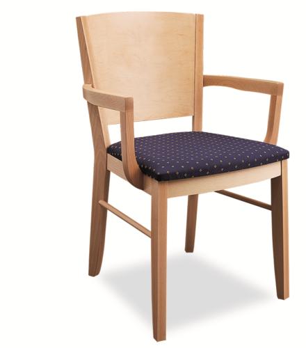 Krzesło Drewniane Eryk Podłokietniki Idealne I Wygodne Krzesło Do Kuchni