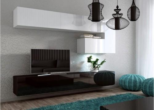 Mebloscianka Czarno Biala Concept 15 Fronty W Polysku
