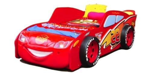 łóżko dziecięce Auto Cars MC Queen czerwone
