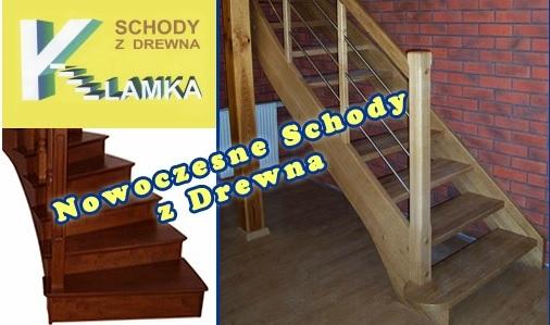 Drewniane schody Klamka Krzysztof