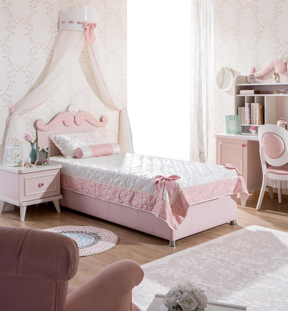 Meble Dla Dziewczynki Baldachim łóżka