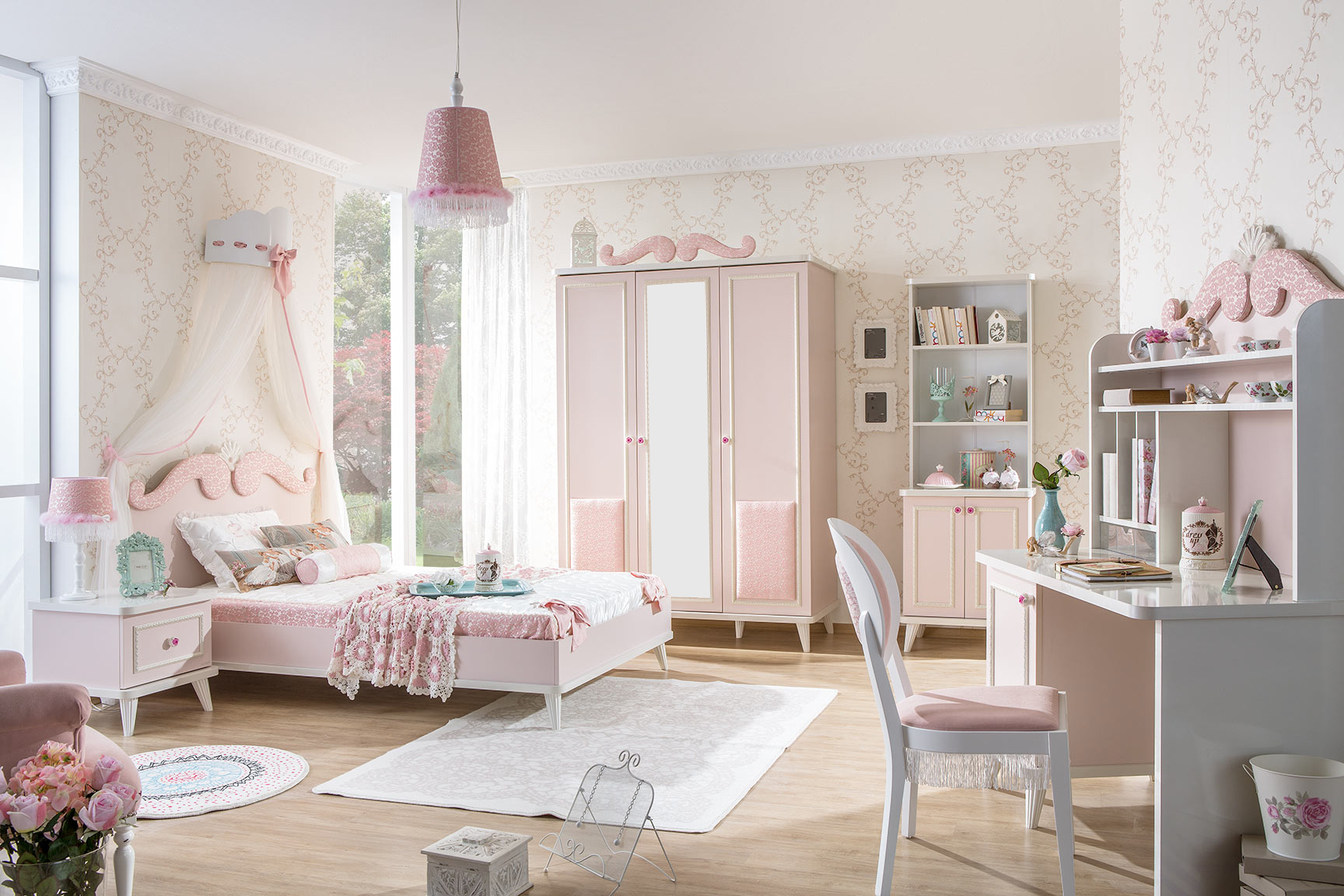 meble dla dziewczynek rosa meble dzieci ce meble m odzie owe eczka dzieci ce. Black Bedroom Furniture Sets. Home Design Ideas