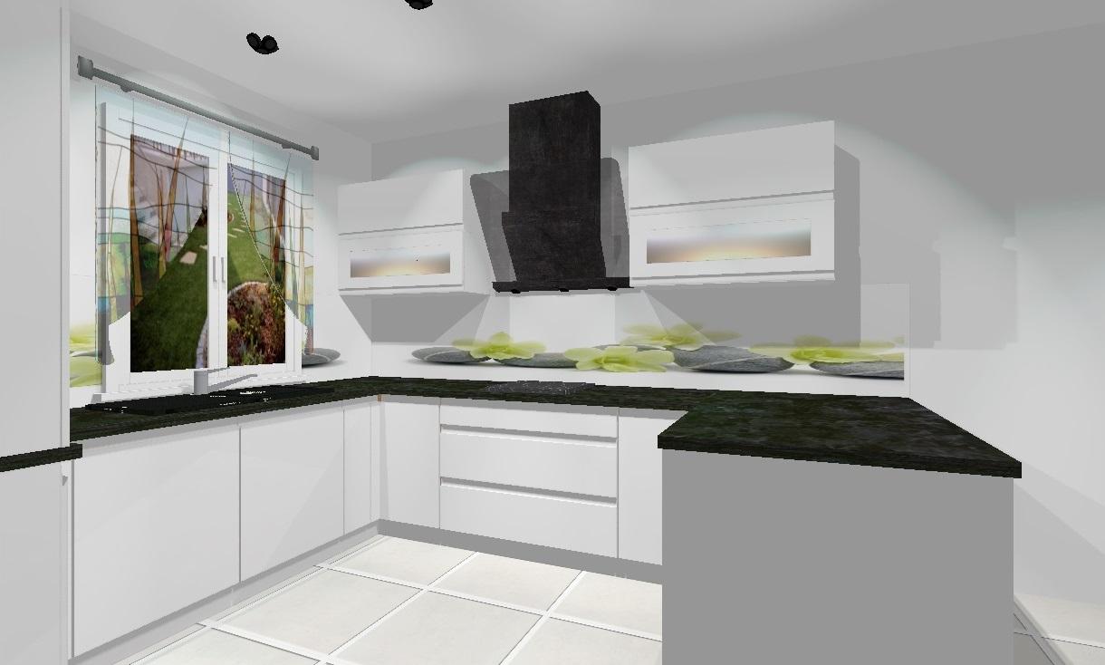 meble kuchenne na wymiar  nowoczesne meble do kuchni, meble kuchenne, meble   -> Kuchnia Z Okapem Kominowym