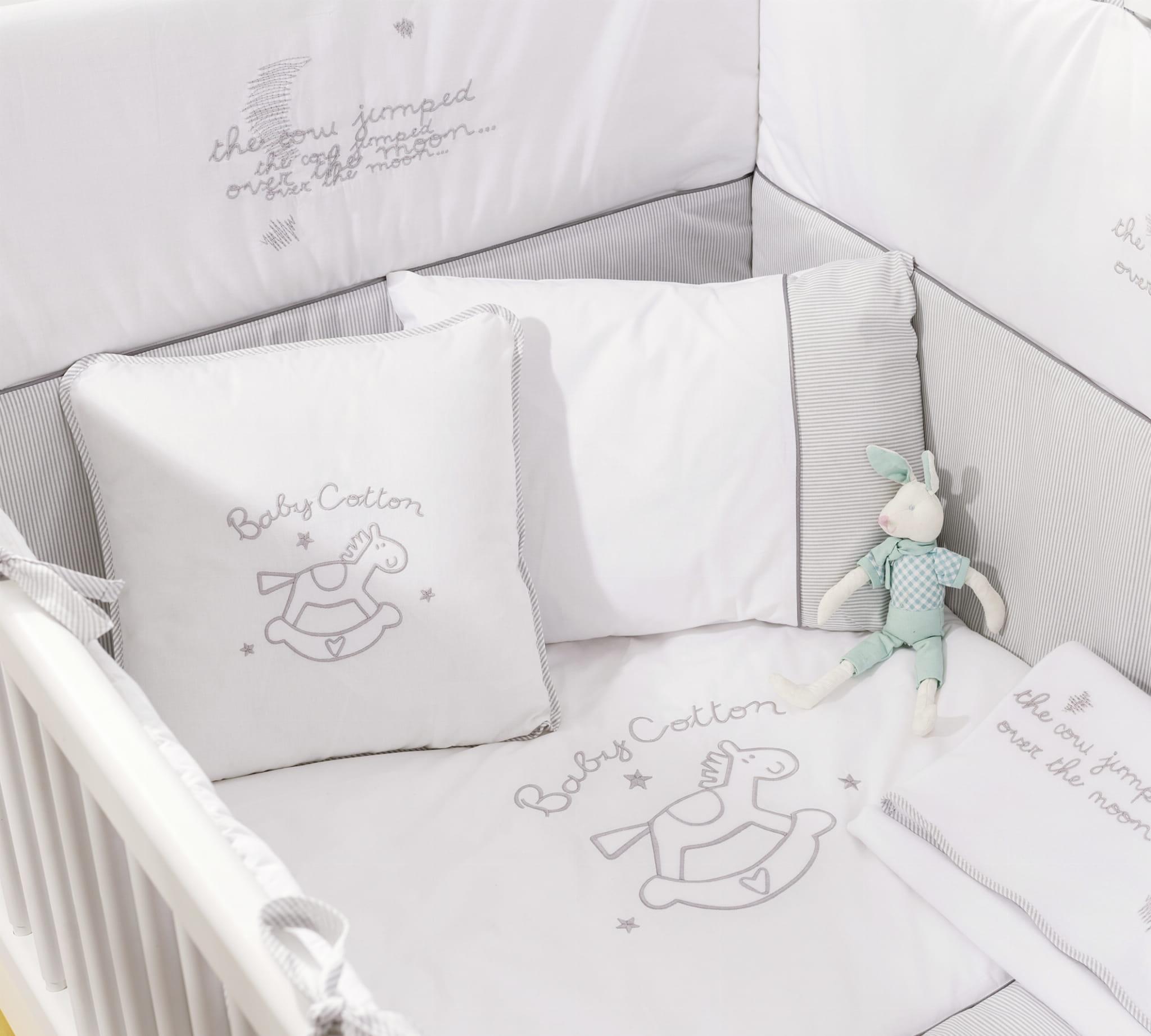 Bawełniana Pościel Do łóżeczka 75 X 115 Dla Niemowlaka Meble Baby