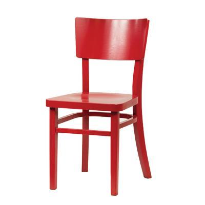 Krzesło Drewniane Czerwone Idealne I Wygodne Krzesło Do Kuchni